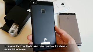 Huawei P9 Lite Unboxing und erster Eindruck