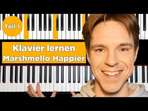 Marshmello ft Bastille - Happier Piano Tutorial