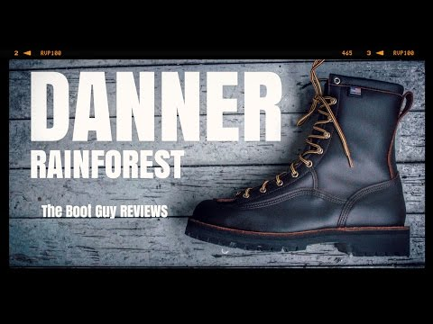 """DANNER RAIN FOREST 8"""" BROWN STYLE NO. 10600 [ The Boot Guy Reviews ]"""