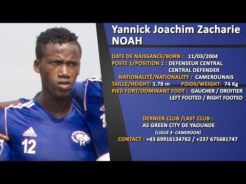 YANNICK JOACHIM ZACHARIE NOAH SKILLS 2019