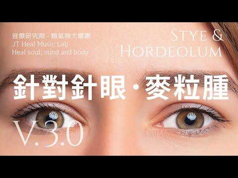 針對針眼或麥粒腫(Stye & Hordeolum) - 3.0版請閱讀影片的使用說明 (建議使用耳機聆聽)