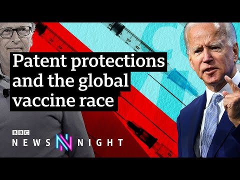 Covid vaccines: Should global political leaders abandon patent protections? - BBC Newsnight