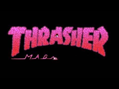 Thrasher Magazine Tshirt Unpackaging September 2016