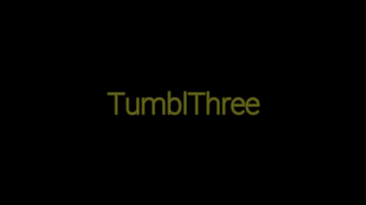 TumblThree ~ The Ultimate Tumblr Tool