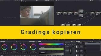 Colorgrading Tutorial: Nodes und Gradings kopieren