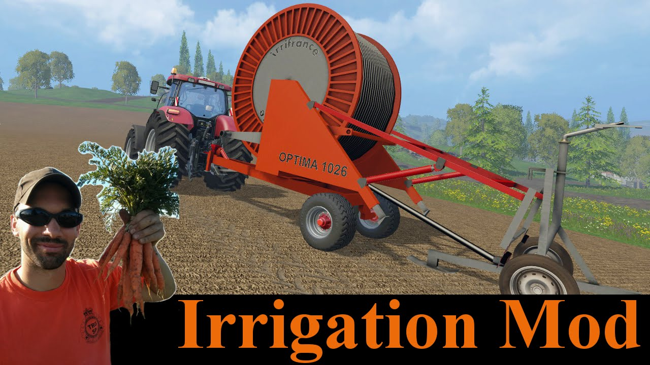 Farming Simulator 2015 Mods Mash Up - Irrigation Mod