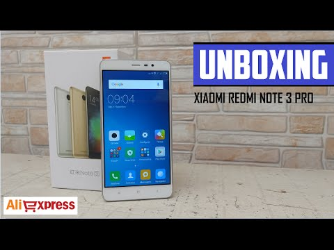 Unboxing Xiaomi Redmi Note 3 Pro - ALIEXPRESS PT-BR
