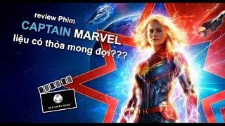 Review phim CAPTAIN MARVEL   Đại Úy Marvel