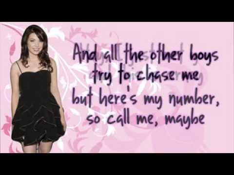 Carly Rae Jepsen - Call Me Maybe Lyrics