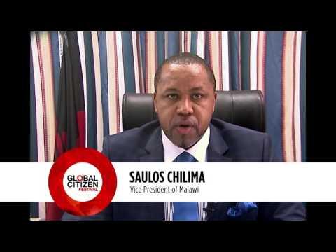 PAUL KAGAME President of Rwanda & SAULOS CHILIMA Vice President of Malawi