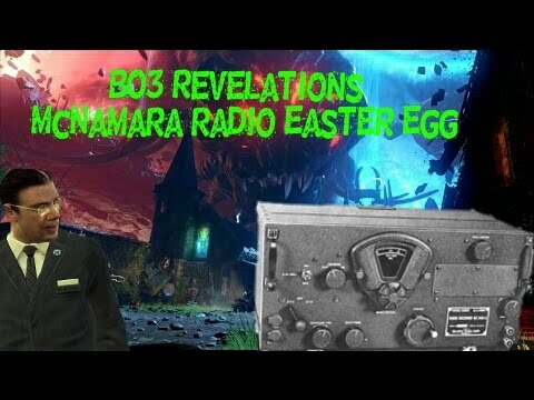 "Black ops 3 Revelations - ""Five"" Mcnamara Radio easter egg"