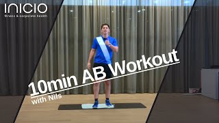 10min AB WORKOUT with Nils