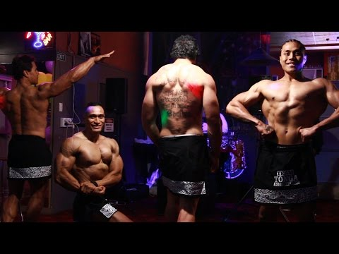 Tongan Body Building How To