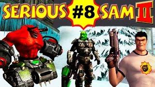 serious Sam 2: Морозный Спутник Кронор, Часть 8 (ВСЕ СЕКРЕТЫ) Крутой Сэм 2 прохождение