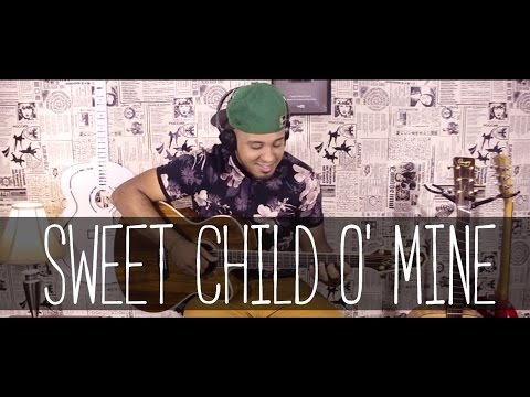 Guns N' Roses – Sweet Child O' Mine  ( no violão) – Hebert Freire
