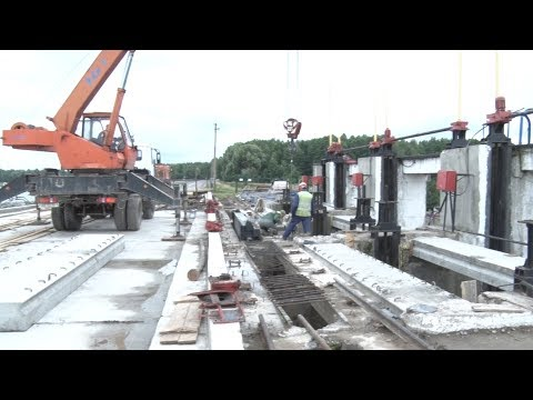 С 25 июля возобновляется движение на участке дороги в районе дамбы Солигорского водохранилища