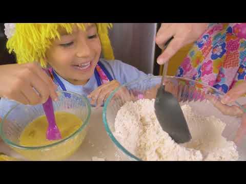 Cocinando Pancakes de Banano en Tematica de Halloween S3:171