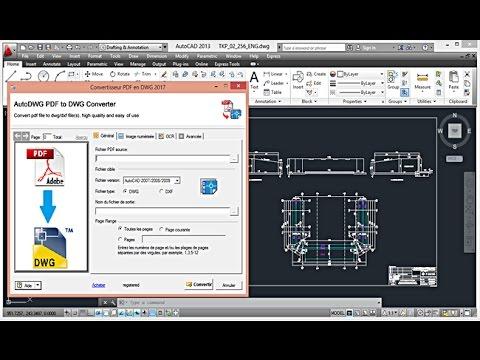 pdf to dwg converter 2017 online