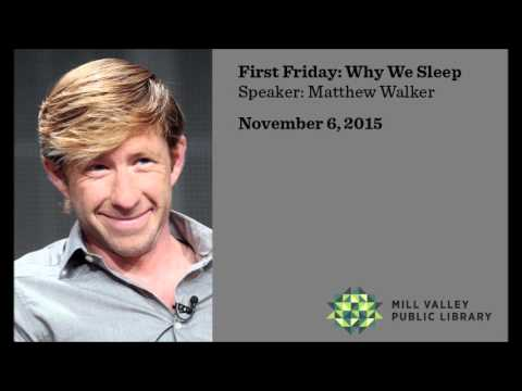 Mill Valley Public Library's First Friday Series with Matthew Walker