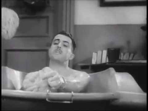 Ramon Novarro Takes a Bath