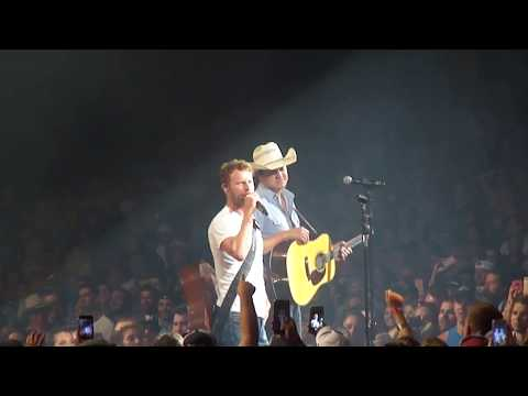 dierks bentley and jon pardi - write this down (george strait cover 7/7/17)