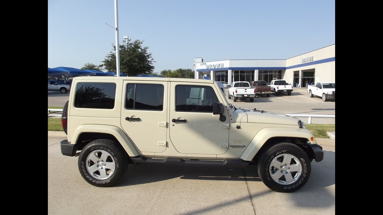 For Sale 29 988 Each Two 2011 Jeep Wrangler Unlimited
