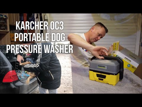 """Karcher Electric Dog Washer """"The OC3 Portable Pressure Washer Review"""""""