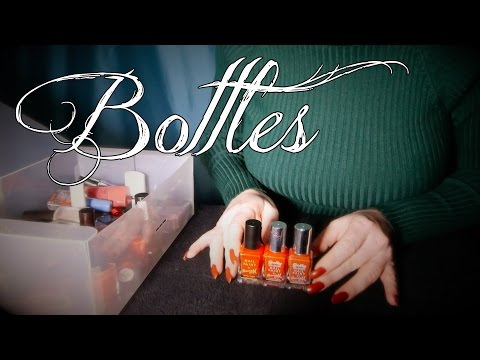 Bottle Clicks & Glass Tapping | ASMR Nail Polish Collection