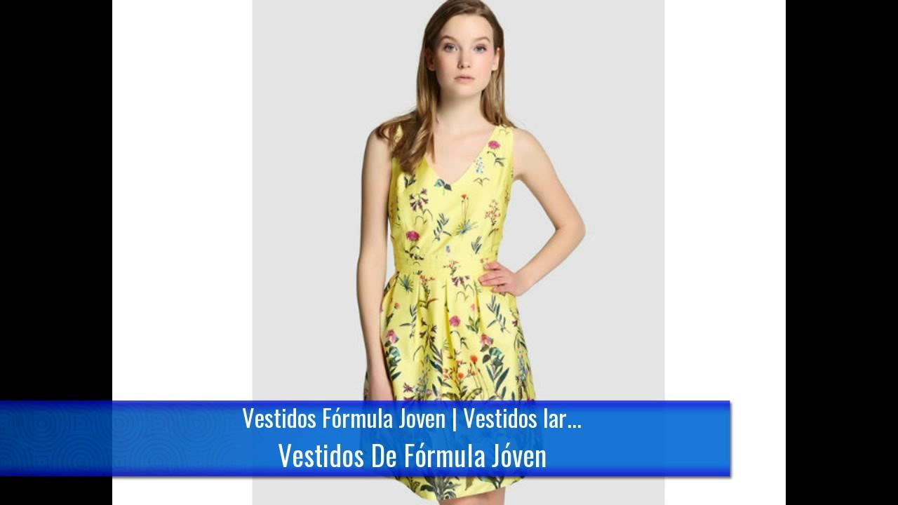c2d2333da Vestidos Fórmula Joven