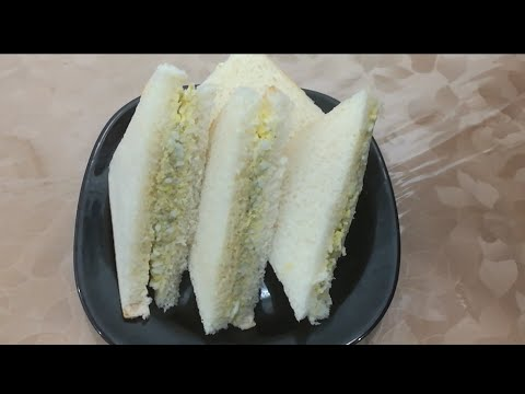 Quick Egg Sandwich Recipe | Breakfast Recipes | How To Make Egg Sandwiches In Urdu/Hindi