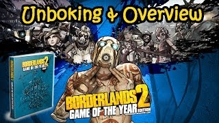 borderlands 2 game of the year edition strategy guide unboxing and overview hd