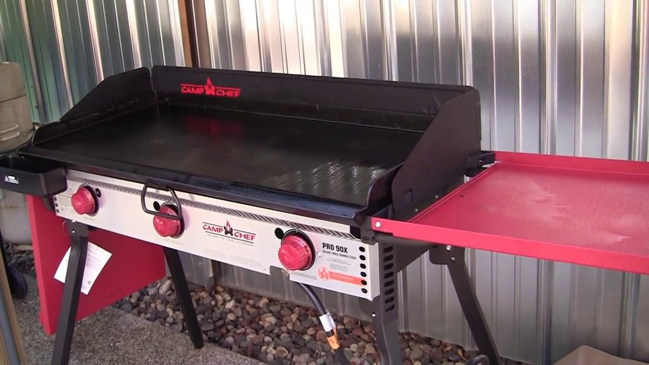 Camp Chef Pro 90x 3 Burner Stove With Griddle Aug 2017