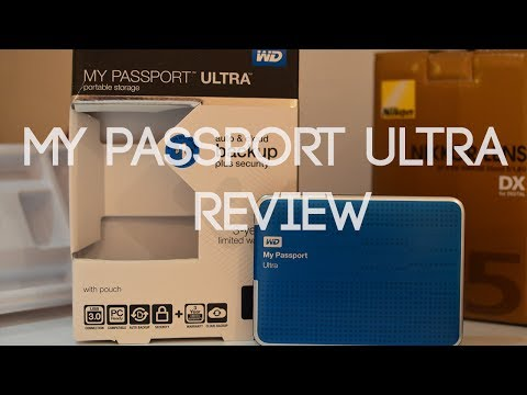 my passport ultra how to use