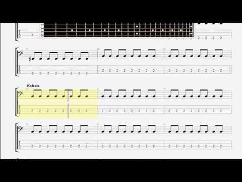 Berry Chuck Johnny B Goode Bass Guitar Tablature Youtube