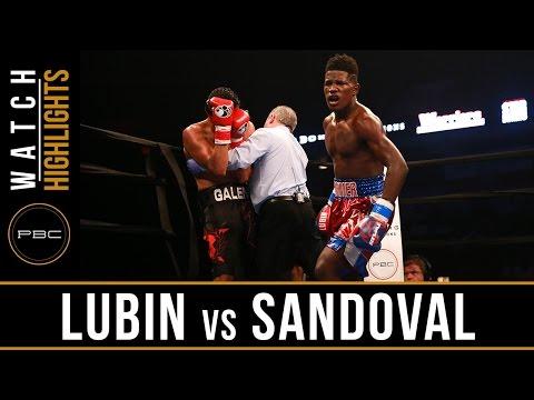 Lubin vs Sandoval HIGHLIGHTS: PBC on NBC - June 18, 2016
