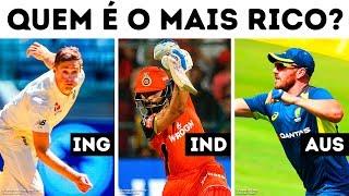 Salário de Críquete Onde os Jogadores Mais Ganham