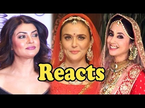 Sushmita Sen REACTS On Preity Zinta And Urmila Matondkar's Weddings!