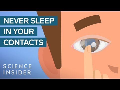 What Happens When You Sleep In Your Contact Lenses