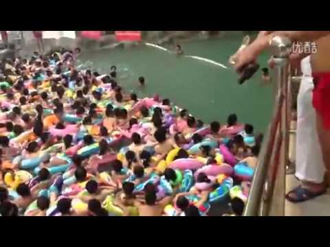 China Crowded Swimming Pool YouTube - 20 photos that show just how insanely overcrowded china is