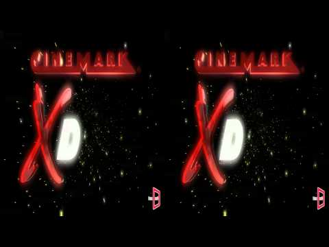 INTRO ANIMADO 3D STEREO PARA SALAS XD DE CINEMARK