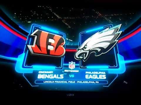2012 NFL Network Intro Eagles Bengals 12/13/12