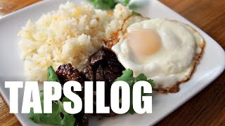 TAPSILOG Recipe - Around the World Breakfast: the Philippines