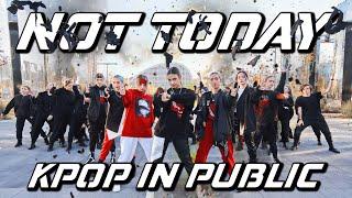 [K-POP IN PUBLIC | ONE TAKE] BTS 방탄소년단 - Not Today | 37 DANC…