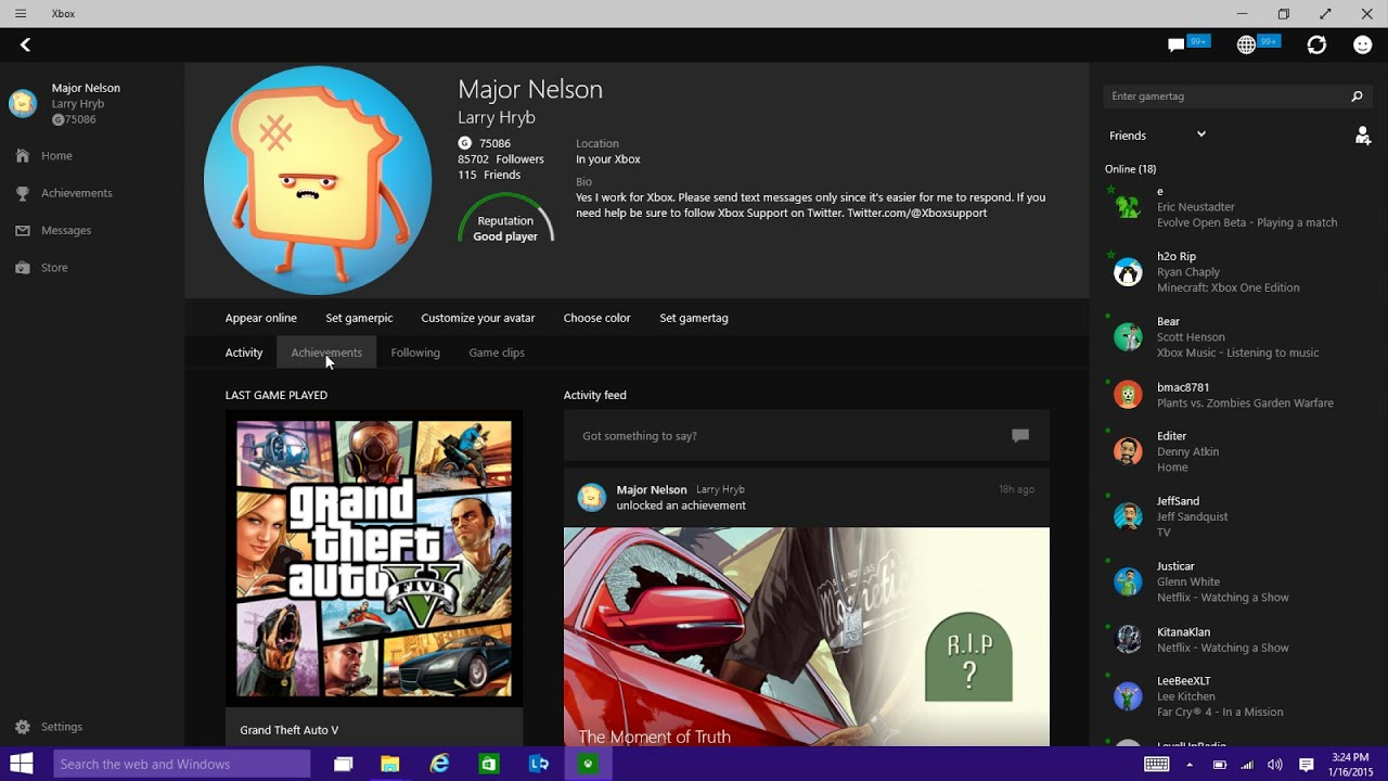 Xbox app on windows 10 preview youtube ccuart Images