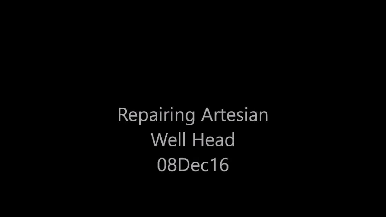 artesian well hook up