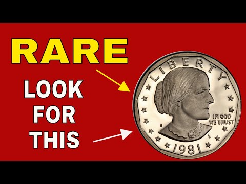 Rare Susan B Anthony Dollar Coins! Dollar Coin Should You Should Look For!