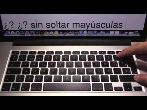 C mo escribir signos de interrogaci n con mac port tiles - Como se pone el parquet ...