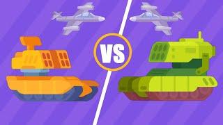 Tank Stars Gameplay | BLAZER MAX LEVEL HP 1600