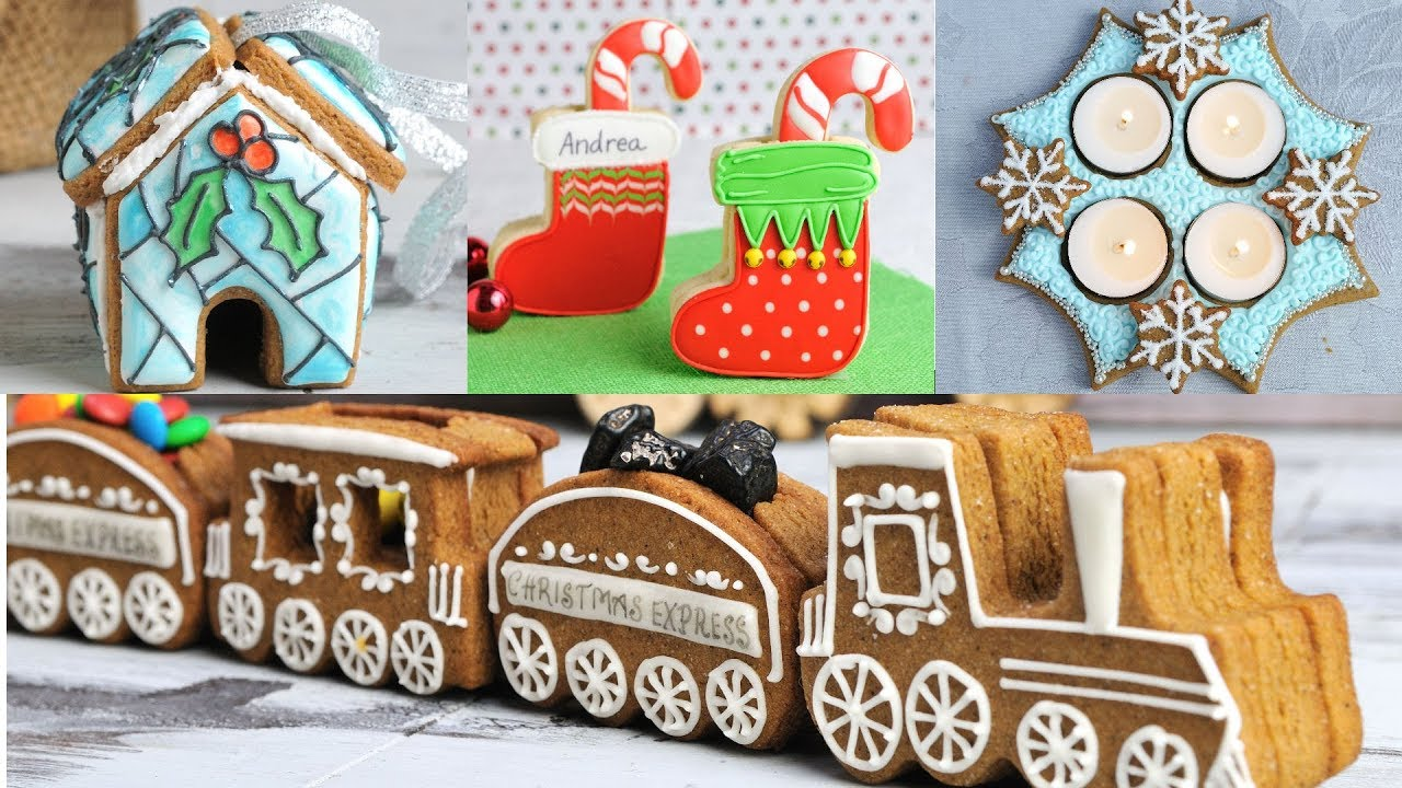 Top 10 Christmas Cookie Decorations By Haniela S