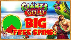 BIG GAMBLES for BIG FREE SPINS!! Giants Gold & More!!